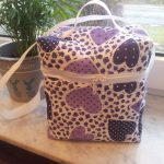 T-Bag Herzchen lila