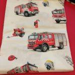 Stoff-Feuerwehr-rot