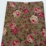 Baumwoll, retro, Blumen