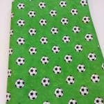 Baumwoll, grün, Fussball