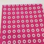 Baumwoll, pink, Sterne