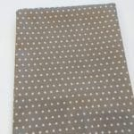 Baumwoll, Sterne, grau