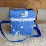 T-Bag, Elefant auf dem Mond, blau