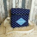 T-Bag, Sterne, blau, Malte