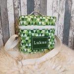 T-Bag, grüne Dreiecke, Lukas