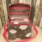 T-Bag, Wolke, pink, innen