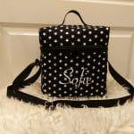 T-Bag, Sterne, schwarz, Sofie
