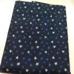Sterne hellblau / dunkelblau