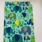 Elefant blau / grün